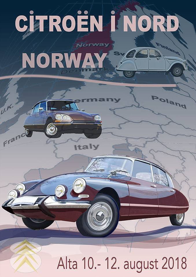 The nothernmost Citroën meeting in the world.