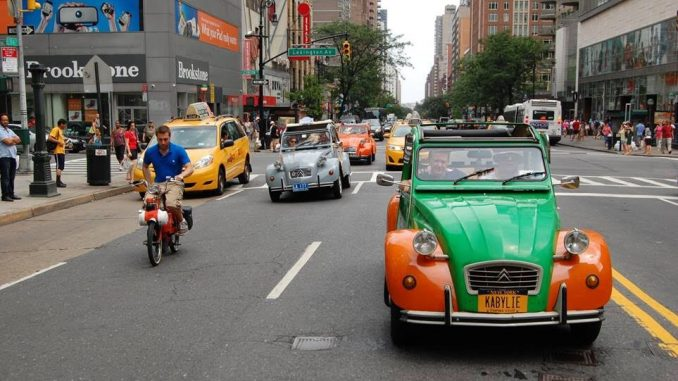 Citroen & Velosolex Rally New Yorkissa 15.8.2018
