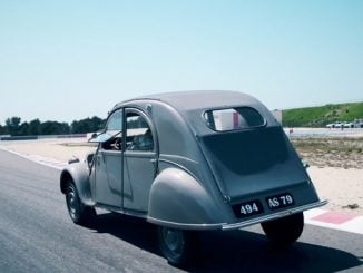 2CV Type A 1952 Paul Ricard Circuit