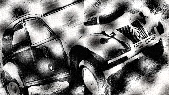 Cocked Hats in a 4x4 [1967]